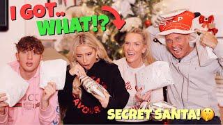 SECRET SANTA w/ The Barker Family!!