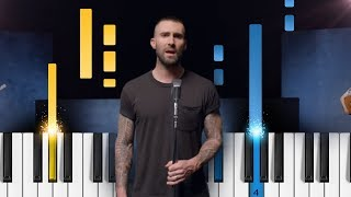 Maroon 5 - Girls Like You Ft. Cardi B - Piano Tutorial