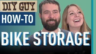 DIY Guy: Bike Storage