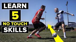 تغلب على المدافعين دون لمس الكرة