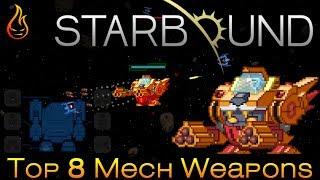 Top 10 Starbound Weapon Mods (inc Terraria, Dark Souls