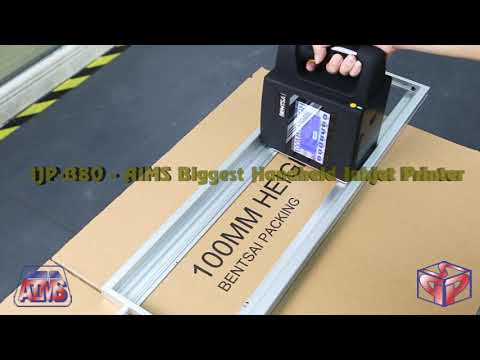 Worlds Biggest Handheld Large Character Non-Contact Ink Jet Printer Model IJP - B80 (100 mm)