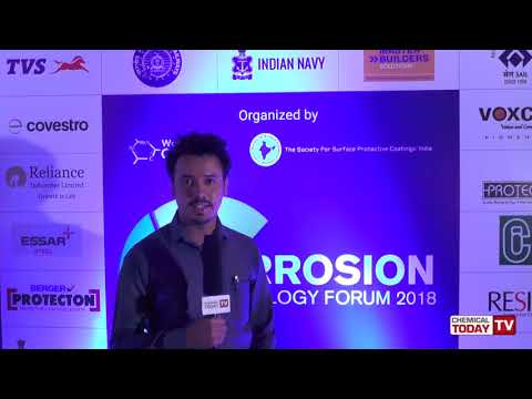 Manoj Vasudev, Fosroc Chemicals - Corrosion Technology Forum 2018