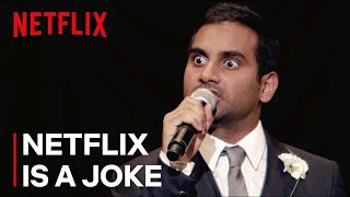 Aziz Ansari: Buried Alive | Clip: Marriage is an Insane Proposal | Netflix