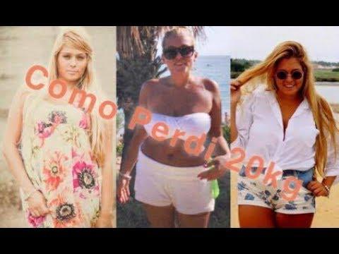 Como perdi 20kg – Vanessa Alfaro