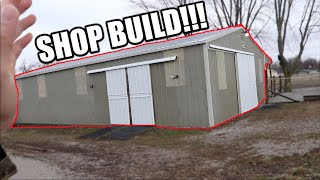 I Bought A Horse Barn To BUILD MY DREAM SHOP IN!!!