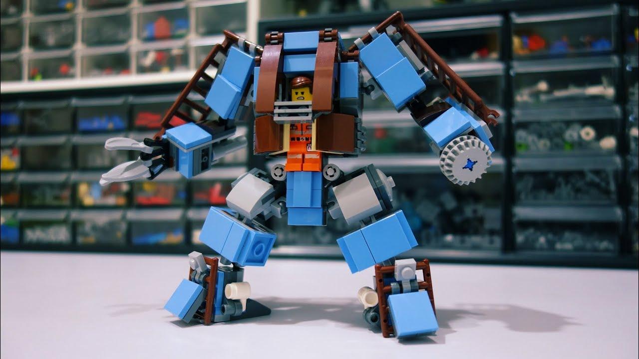 Emmet's Couch Buster Mech! Lego 70842 Alternative Build