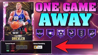 11-0 RECORD ONE GAME AWAY FROM PINK DIAMOND CLYDE DREXLER! NBA 2K20 MYTEAM LIVE
