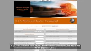 Calculating your Cost Per Mile/Cost Per Kilometer (CPM/CPK) - Carrier Version