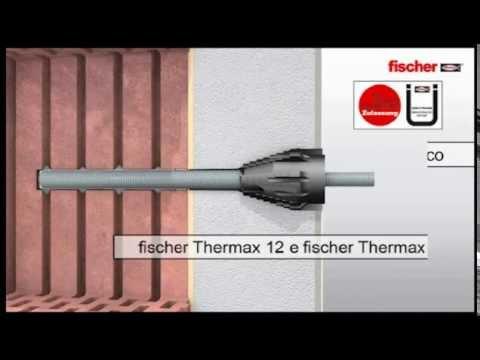 FISCHER - THERMAX e FID, fissaggi per pareti a cappotto
