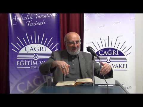 23 Aralık 2014 - Sadık Ünal ile Riyazü's-Salihin Dersleri