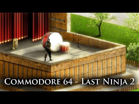 Oglądaj: Last Ninja 2 - Commodore 64 - photoshop remastering