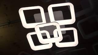 Видео о 7000/4+1 - CV WH люстра