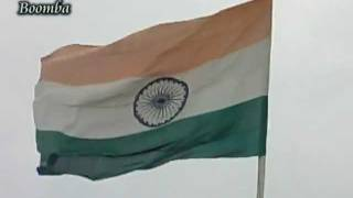 Jana Gana Mana - Lata Mangeshkar - Flag - National Anthem - Bhaskar.mpg