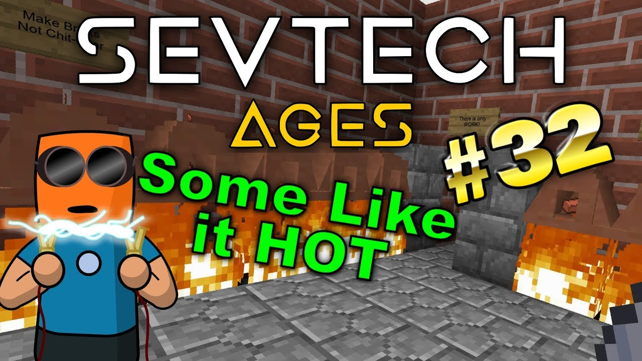 Minecraft - Nether Portal Construction - SevTech Ages #32