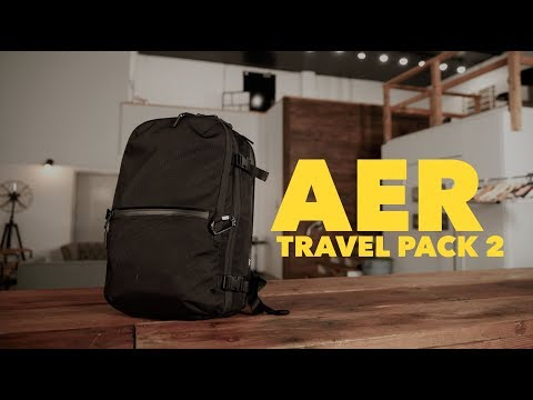 Aer Travel Pack 2 – the BEST travel backpack!