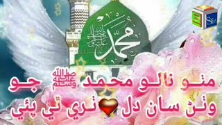 Mitho Naalo Muhammad ﷺ Jo By Farhan Qadry  Beautifull Sindhi Naat