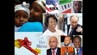 Flash News/endirect avek yon Haïtien ki sot al rencontre Vladimir Poutine pou Haïti flash fête manma