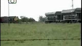 preview picture of video 'Tren de ALL en Río Bamba'