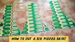 HOW TO CUT A SIX PIECES SKIRT | STITCHADRESS |