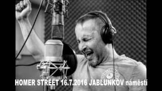 Video HOMER STREET 16.7.2016 JABLUŇKOV náměstí