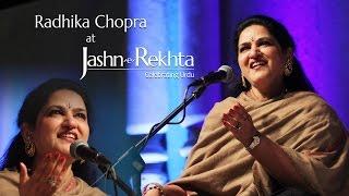 Tum Apna Ranj-o-Gham by Radhika Chopra - YouTube