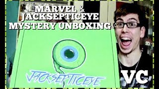 Jacksepticeye/Marvel Mystery Loot Box Unboxing ft MSQ