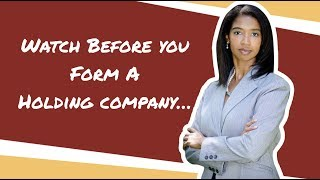 What is a Holding Company?