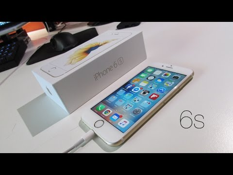 Unboxing: Apple iPhone 6s (64GB Gold Unlocked)