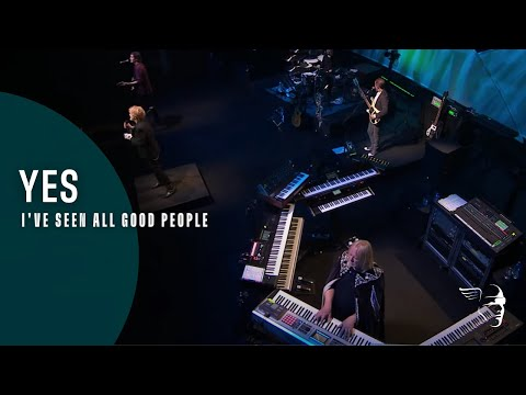 Yes - I've Seen All Good People (Live At The Apollo) online metal music video by YES