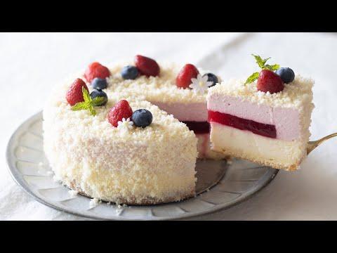 雙層乳酪覆盆莓蛋糕