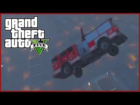 GTA 5 Mods: FLYING CARS! - GTA 5 Car Launch Mod - GTA V Flying Car Mod