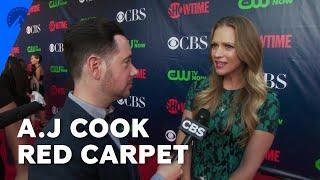 Interview durant la CBS Summer TCA Party 2014 (17 Juillet 2014) avec Andrea Joy Cook