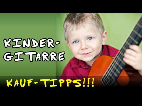 Gitarre kaufen ♫ Kindergitarre Empfehlung Anfänger Einsteiger Günstig