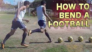 How to Bend a Soccer Ball - Free Kick Tutorial by freekickerz