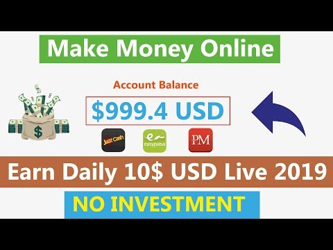 Make Money Online | Earn Free USD No Invest | Earn Daily 10$ Live