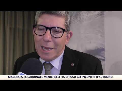 Macerata, il Cardinale Menichelli chiude gli Incontri d'Autunno 2019