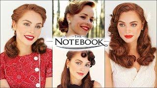 Allie Hamilton The Notebook Vintage Hairstyles | 40s