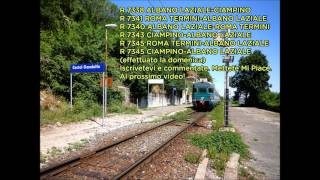 preview picture of video 'Annunci alla Stazione di Castel Gandolfo'