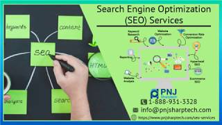 Affordable SEO Services to Build your Organization by PNJ Sharptech