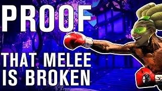 The SCIENCE! of Overwatch's BROKEN Melee System