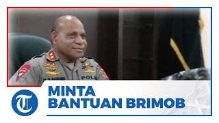 Kapolda Papua Minta Bantuan Brimob untuk Tangani KKB di Kiwirok: 2 Pleton Sudah Bergeser di Sana