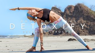 Yoga To Tone & Detox Your Body | DETOXIFY SEVEN DAY PROGRAM