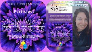 Semana De La Mujer | Tertulia: «Liderazgo Femenino», con Elisa Mayo.