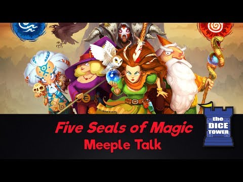 Five Seals of Magic Review - with Meeple Talk