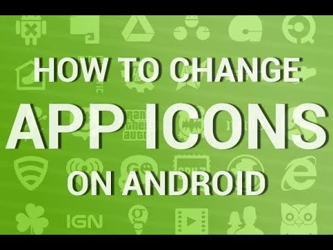 EP9||HOW TO CHANGE APP ICON IMAGE AND NAME WITHOUT ROOTING WITHIN A MINUTE