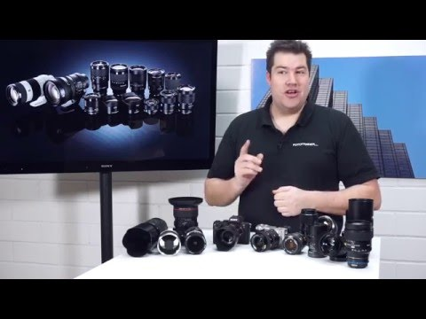 Objektive an Sony Systemkameras adaptieren - A6000, A7, Novoflex, Voigtländer, Metabones