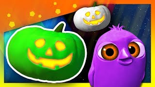 10 Calabazas Sorpresa de Halloween + 10 Personajes de La Granja de Zenón   A Jugar