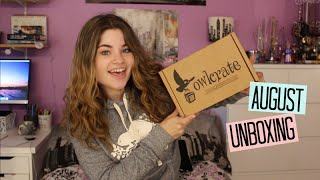 August Owlcrate Unboxing | Fast Times at YA High