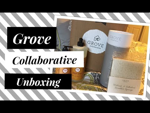 Grove Collaborative Unboxing| Favorite Cleaning Products| Household Haul| Natural Cleaning Products